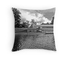 Moored. Throw Pillow