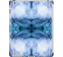 Blue and purple abstract heavenly clouds pattern iPad Case/Skin