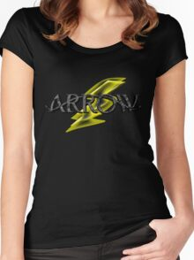 Tv Series Arrow and Flash cross-over Women's Fitted Scoop T-Shirt