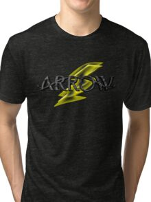 Tv Series Arrow and Flash cross-over Tri-blend T-Shirt