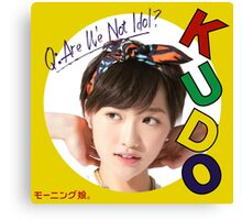 Haruka Kudo - Are We Not Idol? Canvas Print