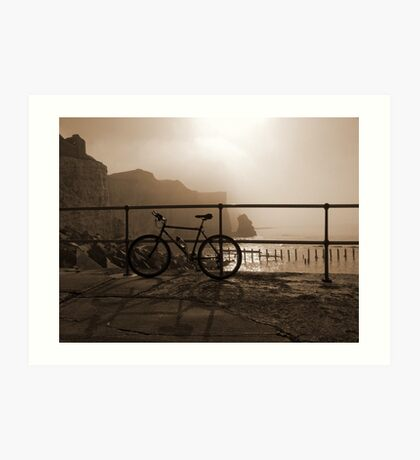 Bicycle Point Art Print
