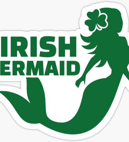 Irish mermaid Sticker