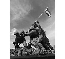 Flag Still Flies Photographic Print