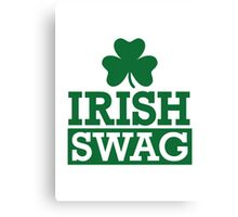 Irish swag Canvas Print