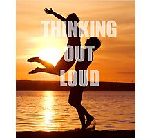 Thinking Out Loud Photographic Print