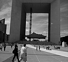 La Defense by metronomad