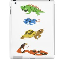 Reptile party!  iPad Case/Skin