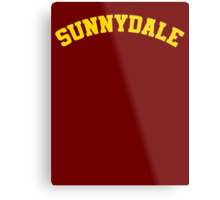 Sunnydale High School Tee Metal Print