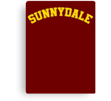 Sunnydale High School Tee Canvas Print