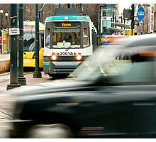 Rush Hour, Manchester Photographic Print
