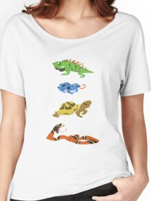 Reptile party!  Women's Relaxed Fit T-Shirt