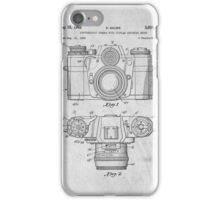35mm Camera Original Patent Art iPhone Case/Skin