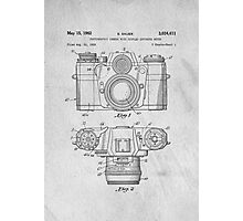 35mm Camera Original Patent Art Photographic Print