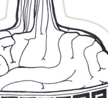 brain ramen Sticker