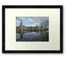 River Ness Reflections Framed Print