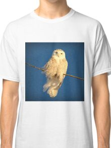 Guardian Angel (snowing) Classic T-Shirt