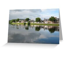 River Ness Reflections 2 Greeting Card
