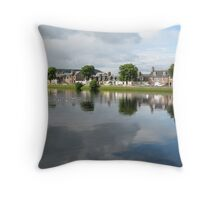 River Ness Reflections 2 Throw Pillow