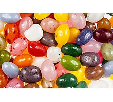 Cool colorful sweet Jelly Beans Photographic Print
