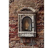 Wall Niche In Venice Photographic Print