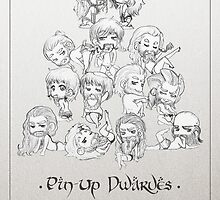 Pin-Up Dwarves Calendar by AlyTheKitten