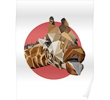girafraid of triangles, aren't you? Poster