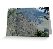 Layer Cake Mountain Greeting Card