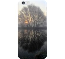 A Pond Reflection iPhone Case/Skin
