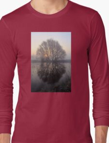 A Pond Reflection Long Sleeve T-Shirt