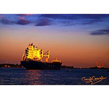The Freighter Photographic Print