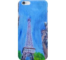 Paris, The Tower Looms iPhone Case/Skin