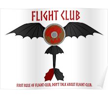 Flight Club - Motto Poster