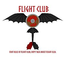 Flight Club - Motto Photographic Print
