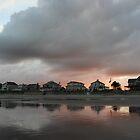 Evening beach scene by Kay Reynolds