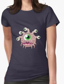 The happy Eye Tyrant Womens Fitted T-Shirt