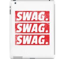 SWAG. iPad Case/Skin