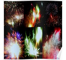 Marin County Fair Fireworks Poster