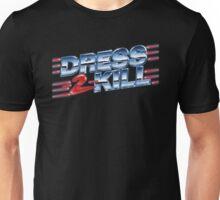 Dress-2-Kill Logo with Lazers  Unisex T-Shirt