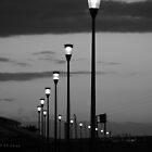 Lighting Melbourne - Lights in Mono by kalaryder