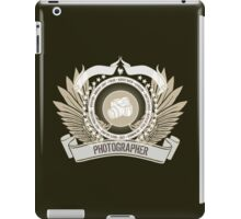 Amazing 'Photographer's Crest and Stars Limited Edition Design' T-shirts, Hoodies, Accessories and Gifts iPad Case/Skin