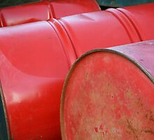 Red Barrel Trio by CherishAtHome
