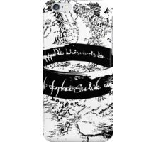 The ONE Ring, L'unico Anello iPhone Case/Skin
