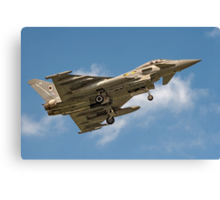 Eurofighter Typhoon FGR.4 ZJ931/DA Canvas Print