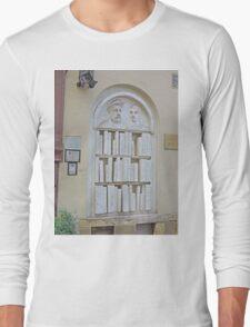 Bookshop Sculpture Long Sleeve T-Shirt