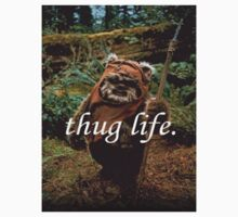 Ewok Thug Life Kids Clothes