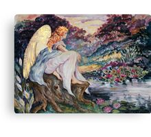River Angel Canvas Print