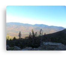 Scenic view of Mt. Washington Canvas Print