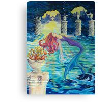 Mermaid Angel Canvas Print