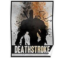 Deathstroke Splash Poster